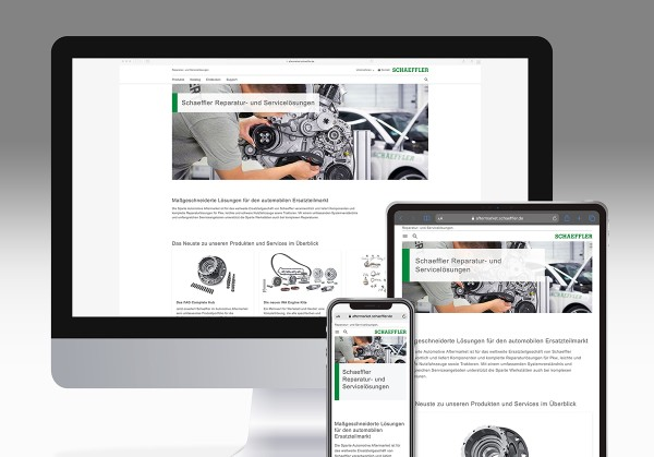 Automotive Aftermarket mit neuer Web-Präsenz