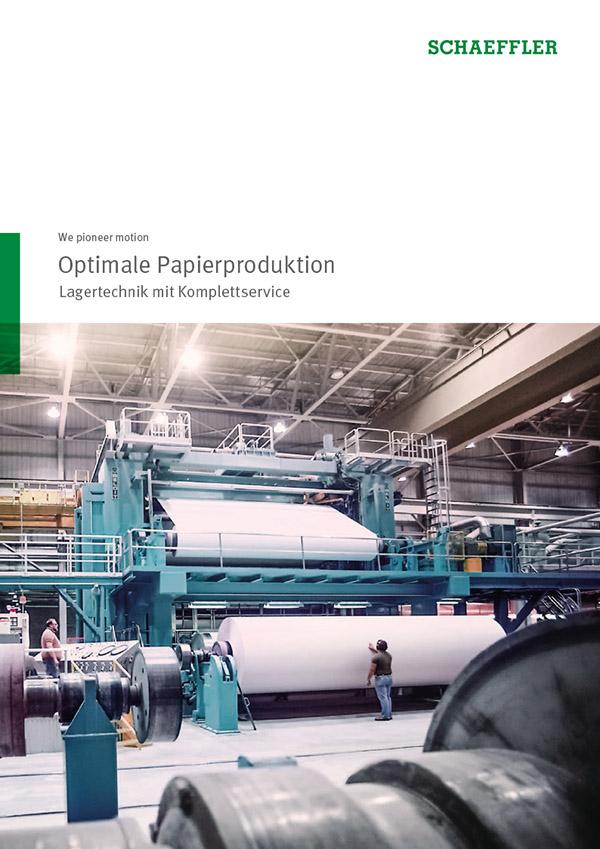 Optimale Papierproduktion