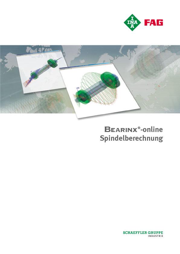 BEARINX®-online Spindelberechnung