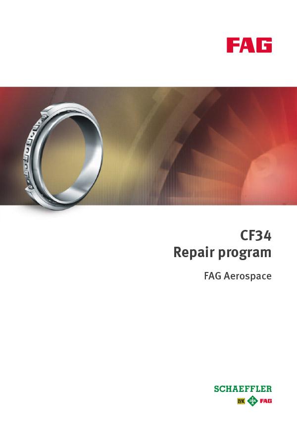CF34 Repair Program | Schaeffler Germany