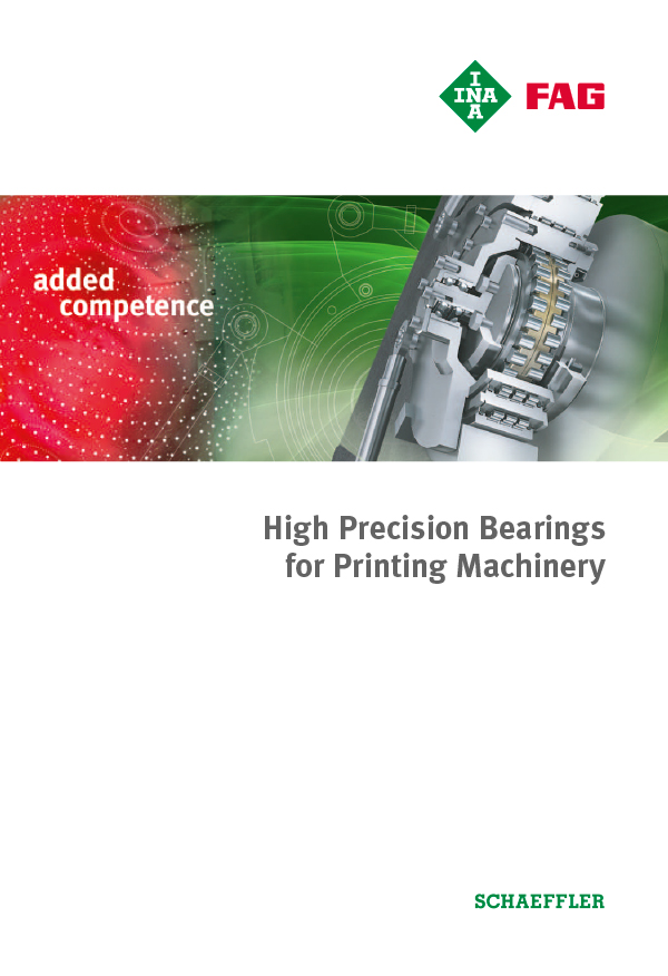 High Precision Bearings for Printing Machinery