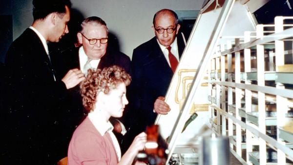 """Erstes FAG-Werk in Nordamerika: Gründung der """"Fischer Bearings Manufacturing Ltd."""", Stratford, Ontario, Kanada."""