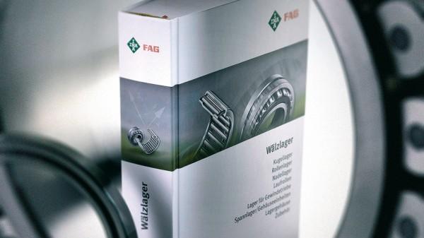Der erste gemeinsame Hauptkatalog der Marken INA und FAG erscheint. Das 1500-seitige Werk enthält rund 40.000 Standardprodukte.