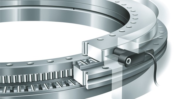 Rotary table bearings with YRTM integrated measuring system – one of the first mechatronics products.