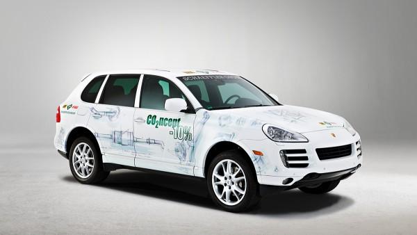 Die Schaeffler Gruppe stellt ihr Konzeptfahrzeug CO2ncept-10% vor, ein gemeinsam von Porsche und der Schaeffler Gruppe realisiertes Vorentwicklungsprojekt.