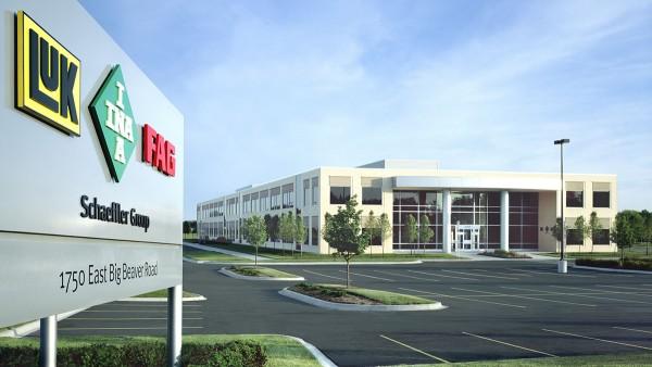 Das Forschungszentrum Automotive der Schaeffler Gruppe wird in Troy (USA) eröffnet.