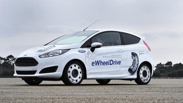 Schaeffler's E-Wheel Drive with an integrated wheel hub drive