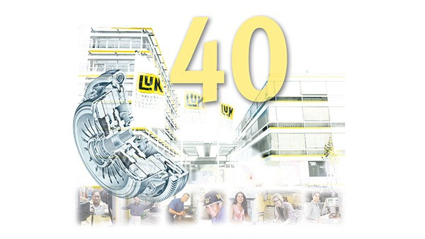 LuK celebrates its 40th company anniversary.