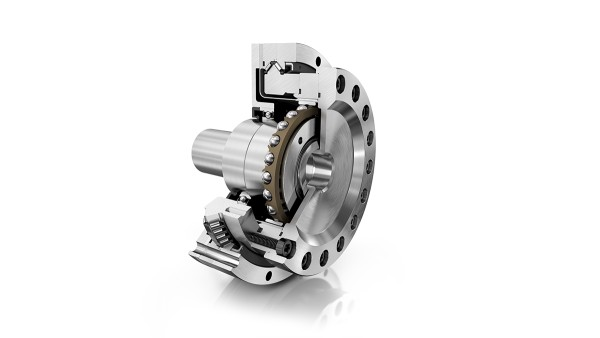Das DuraWave-Wellgetriebe RTWH zeichnen sich u. a. durch hohe eine hohe Positioniergenauigkeit und eine sehr hohe Lebensdauer aus.