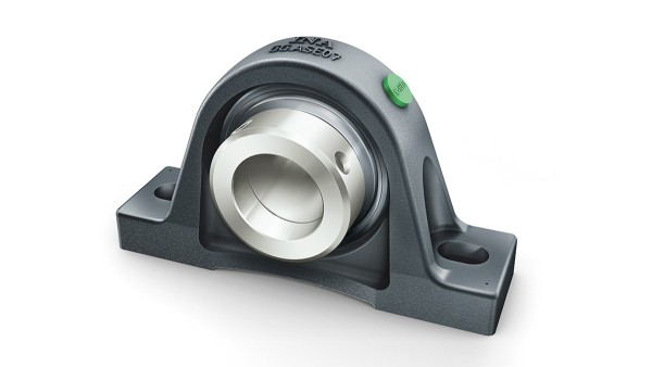 INA radial insert ball bearing and housing unit