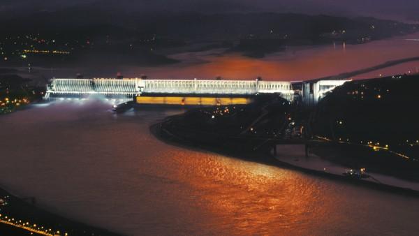 Konventionelle Wasserkraft: Drei-Schluchten-Staudamm in China