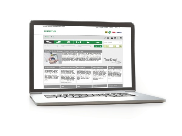 Schaeffler Automotive Aftermarket Online Kalalog