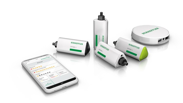 OPTIME ist eine kabellose IoT-Lösung von Schaeffler.