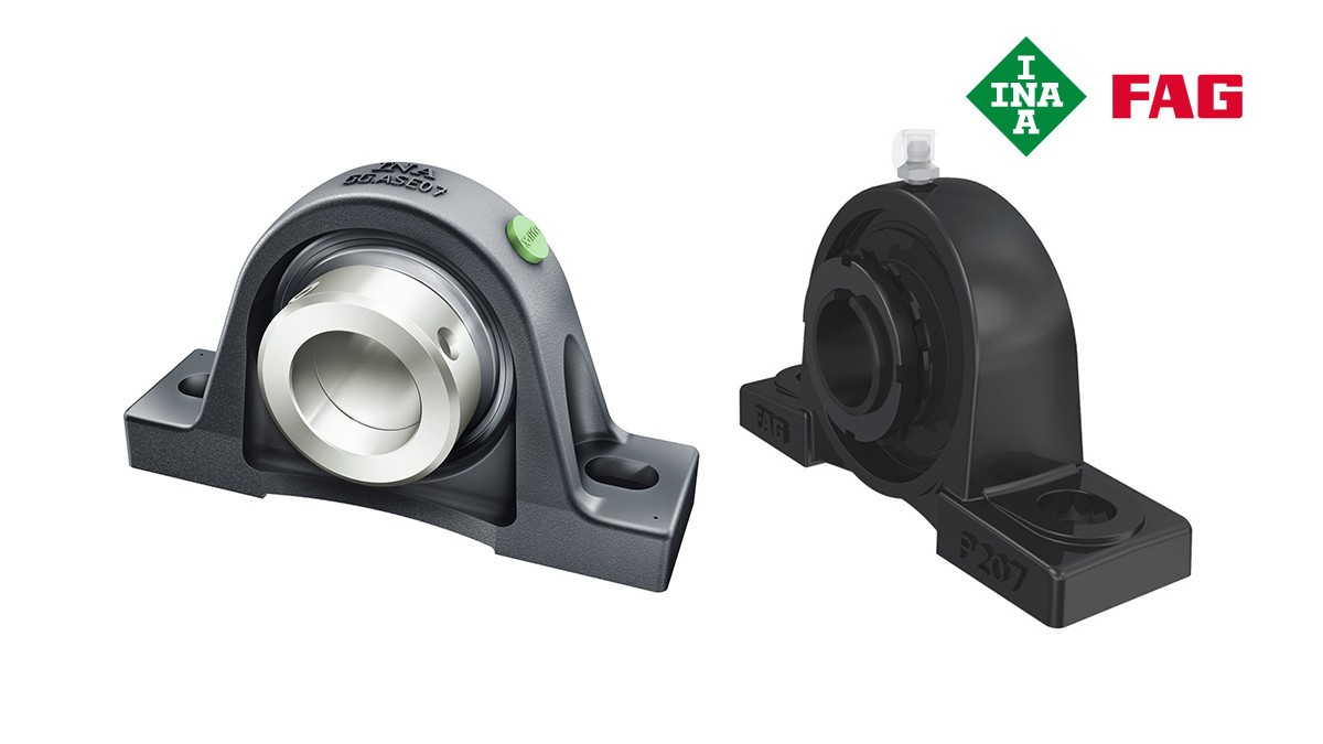 Schaeffler rolling bearings and plain bearings: Housing units
