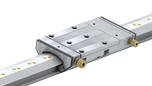Schaeffler X-life products: Linear guides with hydrostatic compact guide