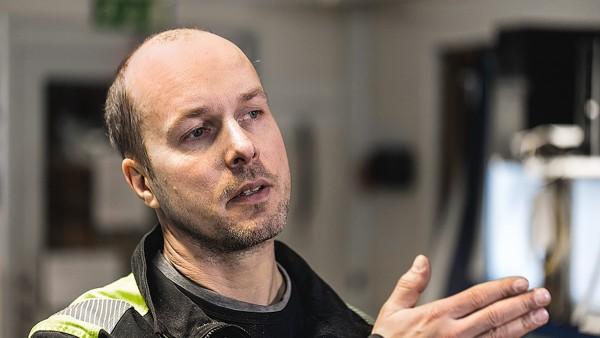 Mikael Eriksson, Betreiber des Sägewerks Kåge