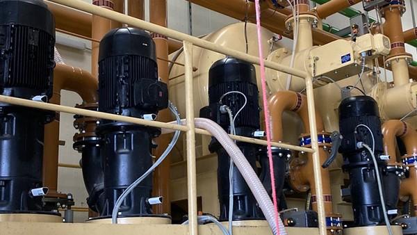 Pumpenüberwachung in einer zentralen Versorgungsanlage