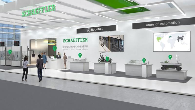 Schaeffler Special Machinery: digital showroom