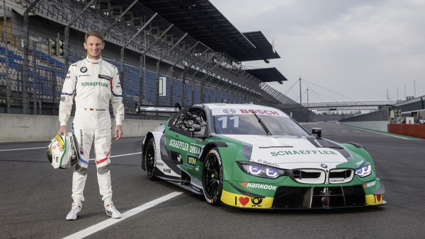 Looking forward to the home event: Schaeffler BMW M4 DTM and Marco Wittmann in action in Nuremberg