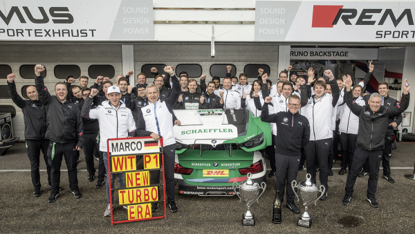 Schaeffler and BMW kick off the new DTM season with a win