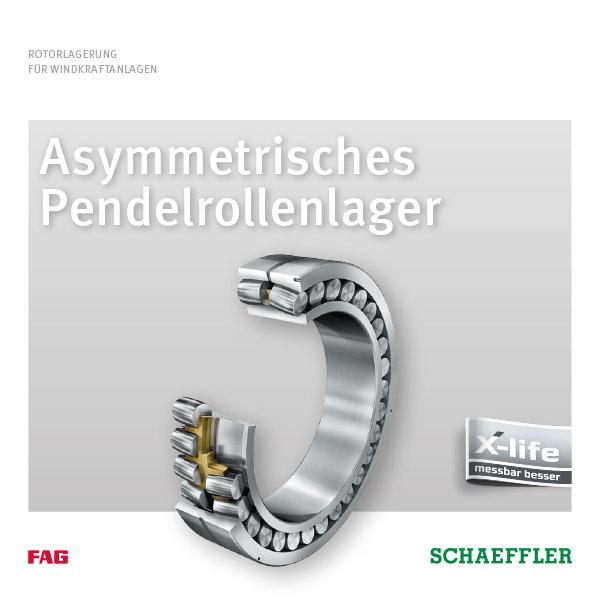 Asymmetrisches Pendelrollenlager