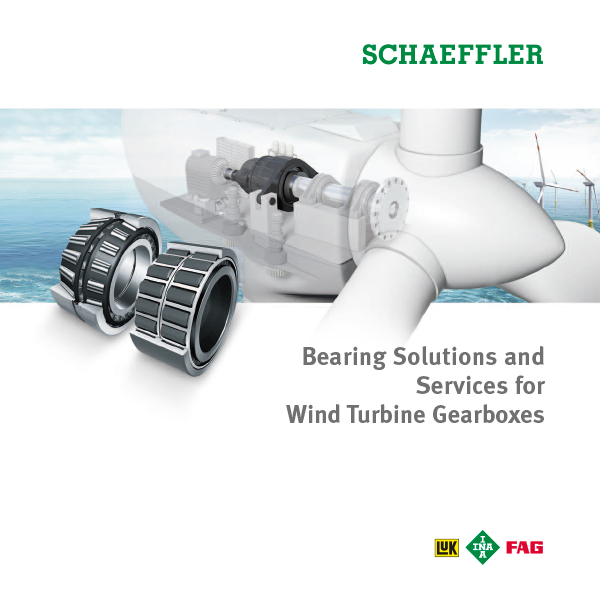Bearing Solutions and Services for Wind Turbine Gearboxes