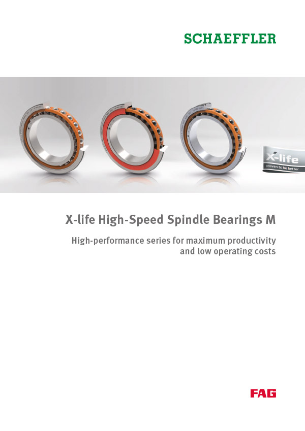 X-life High-Speed Spindle Bearings M