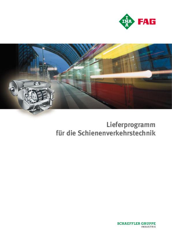 Lieferprogramm für die Schienenverkehrstechnik