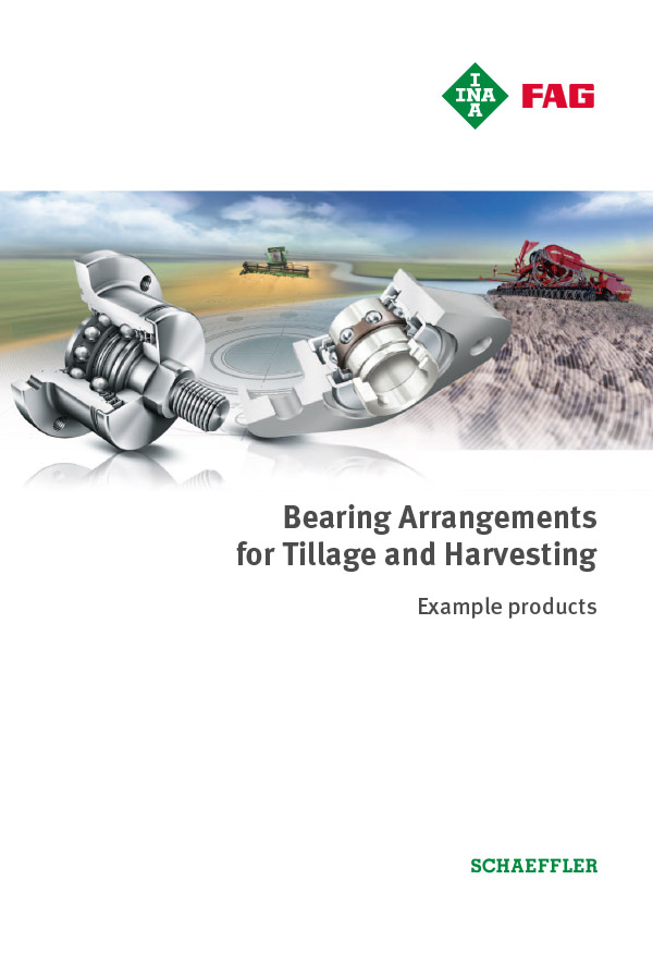Bearing Arrangements for Tillage and Harvesting