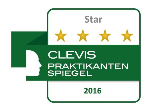 Clevis Siegel Auszeichnung