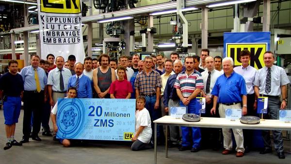 Ein rundes Jubiläum: Das 20 millionste ZMS geht in Bühl vom Band.