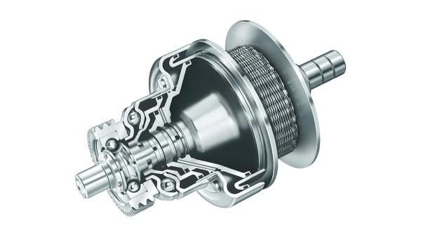 LuK präsentiert die CVT-Komponenten für hohe Drehmomente.