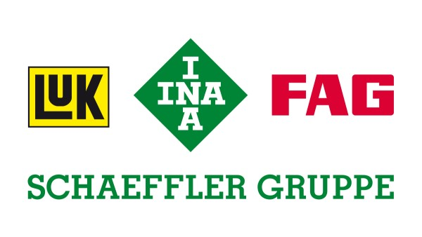 "INA, FAG and LuK form the ""Schaeffler Group""."