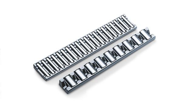 Ur-Linearführung: Der INA-Flachkäfig legt den Grundstein für den neuen Geschäftsbereich Lineartechnik.