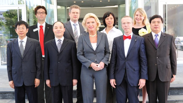 Kooperationsvertrag mit chinesischer Henan University of Science and Technology