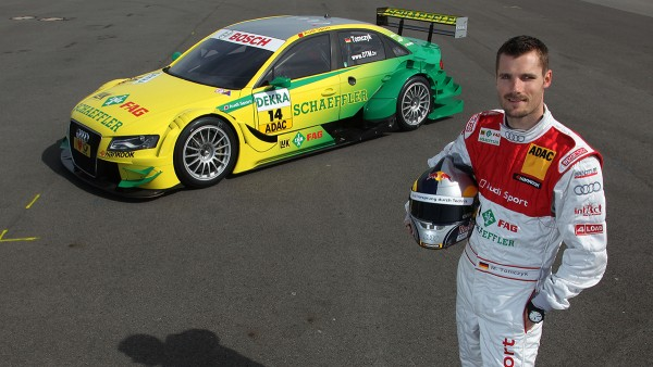 Martin Tomczyk becomes the 2011 DTM champion in the Schaeffler Audi.