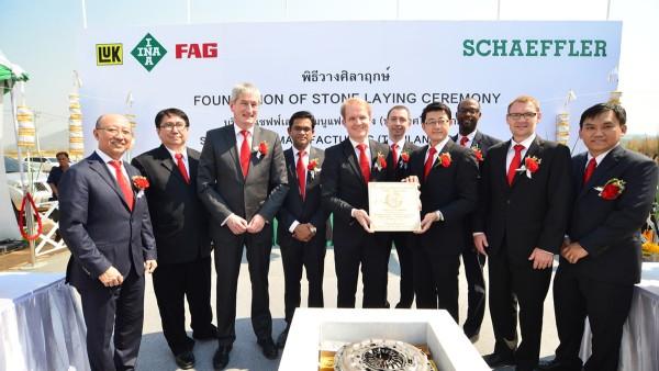 Mit der Grundsteinlegung für ein neues Werk in Thailand baut Schaeffler seine Fertigungskapazitäten in der Region Asien/Pazifik weiter aus.