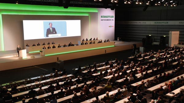 Die erste Hauptversammlung der Schaeffler AG nach dem Börsengang ist ein weiterer Meilenstein in der Geschichte des Unternehmens.