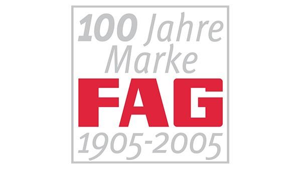 Die Marke FAG feiert 100-jähriges Jubiläum.