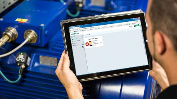 Cloud-Services für Elektromotoren