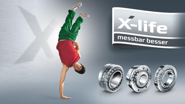 X-life – das Gütesiegel für messbare Leistungssteigerung