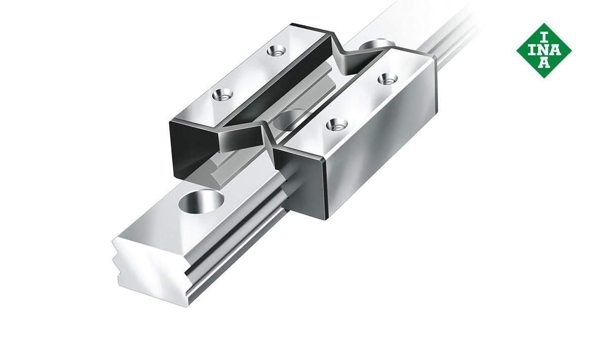 Schaeffler linear guides: Miniature plain guidance systems