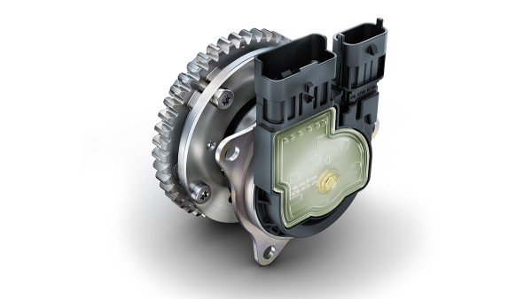 Electromechanical camshaft phasing unit