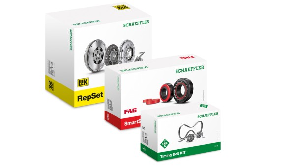 Automotive Aftermarket of Schaeffler gives product packaging new optics