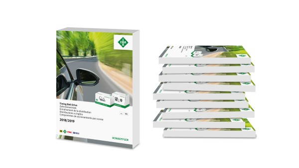 New edition of Schaeffler spare parts catalogs for timing belt drives and overrunning alternator pulleys now available
